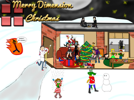 Dimension Wars Christmas! by TalonArtsdA