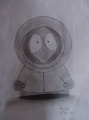 Kenny Mccormick by Rubber-Band-Of-Doom