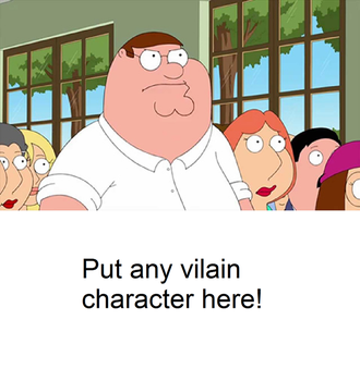 Peter vs a blank meme by Mroyer782