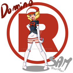 Domino by StanAddams