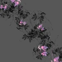 Sweeping Sensation Floral Pattern 03 by DonnaMarie113