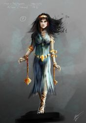 Medea quick concept art by Chimerum