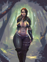commission #196 skyrim character by cutesexyrobutts