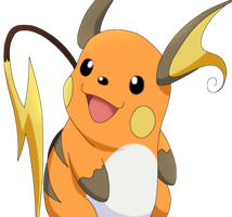 50 Pokemon #12-Raichu by MegBeth
