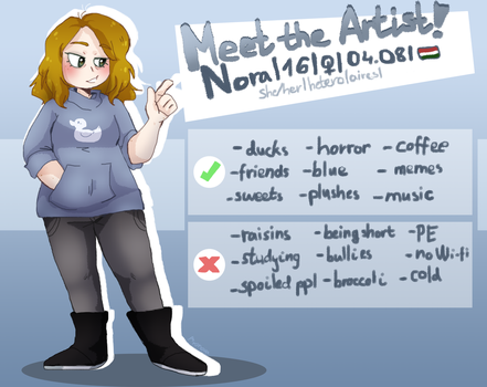 Meet the Artist... Again? by aronora