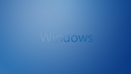 Windows Blue Gradient Wallpaper by ruplik