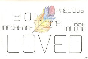 You Are Loved by 58542