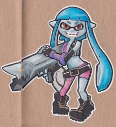 Splatoon x league of legends by Heriplayer