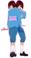 [MMD UNDERTALE] Frisk (v. 1.1) [DL] by Ocuuda