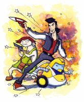 Space Dandy by CorinneRoberts