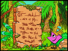 Stone Tablet Monologue by kittyninjafish