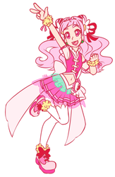 Cure Yell by PrettyWitchDoremi