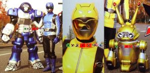 GoBuster Yellow and Blue by kokba