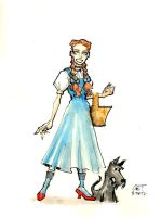DSC 81012- Dorothy and Toto by GilTriana