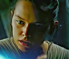 Rey by Daisy Ridley (The Last Jedi) by petnick