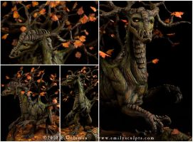 Autumn Spirit, Details by emilySculpts