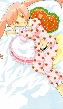 Strawberry on the Shortcake by ThexGlassxDoll