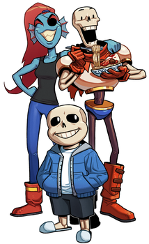 Undertale by thdark