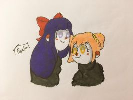 Pop Team Epic Tradicional by Faychinha