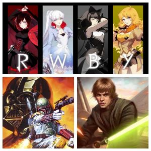 RP BATTLE 4: Team RWBY and the Galactic Endeavor by FlareEmerald77