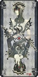 Augen Auf: Jack of Clubs by yuumei