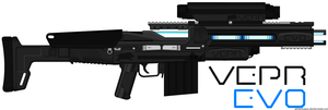 Vepr Industries - Mark 25X RAX-5 Railgun 'Evo' by prokhorvlg