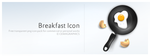 Breakfast Icon by cemagraphics