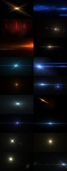Lens Flares and lights by SaphireDesign