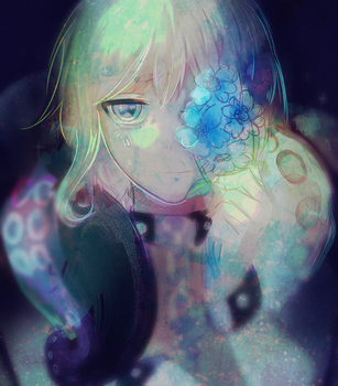 Forget me not. by Hoshi-Pan