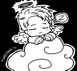 Castiel - Cloud Napping by Threshie