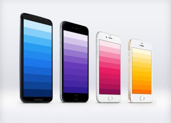 Material Design Color Palette Wallpapers by JasonZigrino