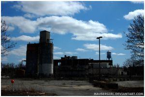 Factory Ruins by MauserGirl
