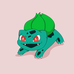 Bulbasaur by Loprocks