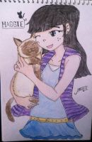 Maggie and Morticia by Trexe13