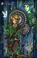 The Legend of Zelda ~ Digital by MarieJaneWorks