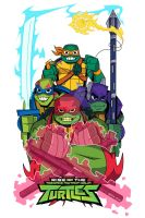 2018 Rise of the Teenage Mutant Ninja Turtles by nicitadesigns