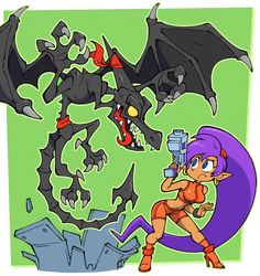 Shantae and the Space Pirate's Curse by Shenaniganza