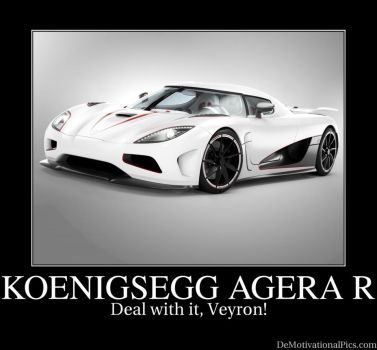Koenigsegg Agera R MOTIVATIONAL by Roddy1990