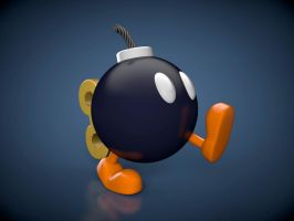 Bomb-Omb by The3DLeopard