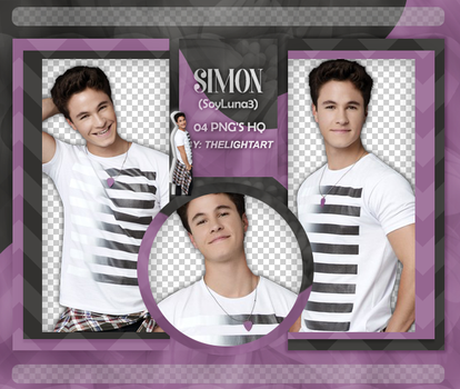 SIMON|PACK PNG by ThelightartOFC