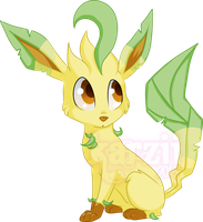 Leafeon by karzii