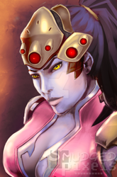 Widowmaker by SmudgedPixelsArt