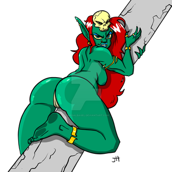 Goblin Queen 002 by omegalbagel