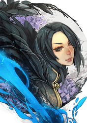 Blade and Soul Tasha by wickedalucard