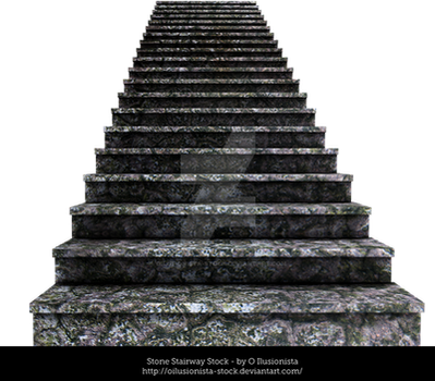 Stone-stairway-stock by oilusionista-stock