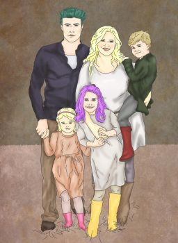 Teddy and Victoire family by x8xdanix6x