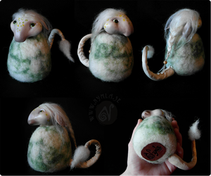 Sindre the Nordic Forest Troll (Available on Etsy) by Nymla