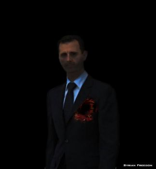 No heart Assad by Hichampro