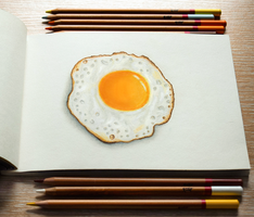 sunny side up by MarjoryBurnt