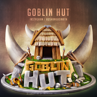 Clash Royale Goblin Hut by roshankasinath